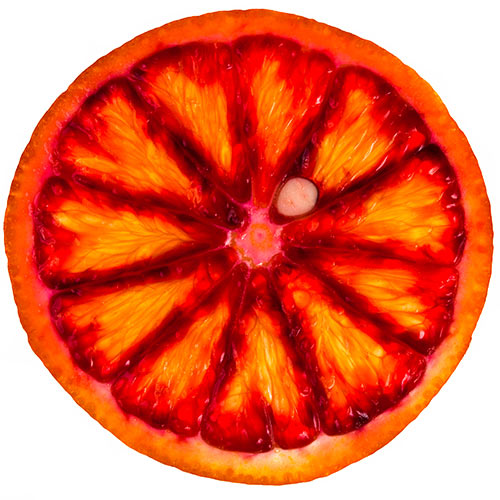 Winter answer: BLOOD ORANGE