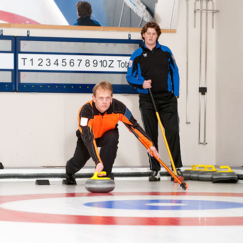 Winter answer: CURLING