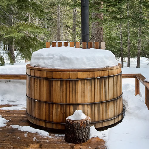 Winter answer: HOT TUB