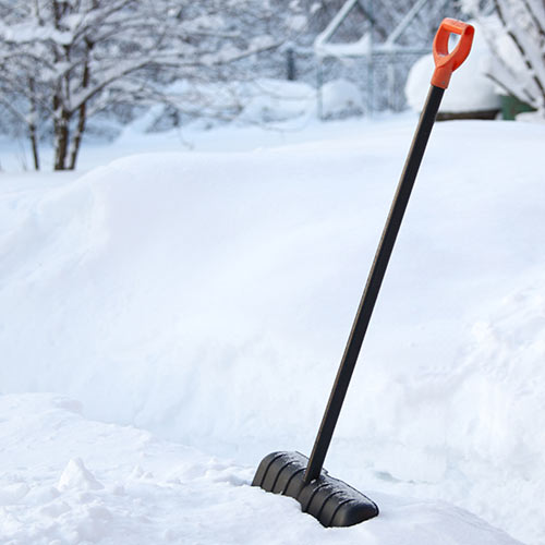 Winter answer: SHOVEL