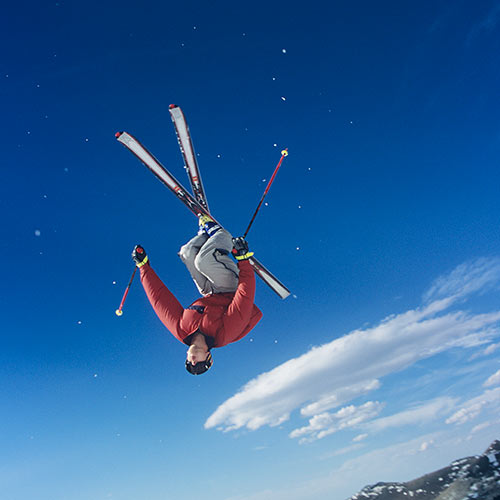 Winter answer: SKIING