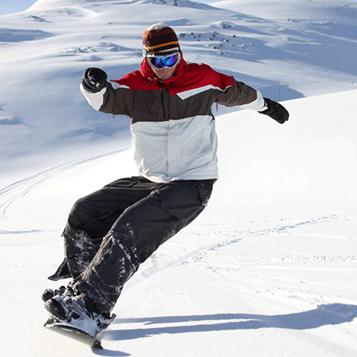 Winter answer: SNOWBOARDING