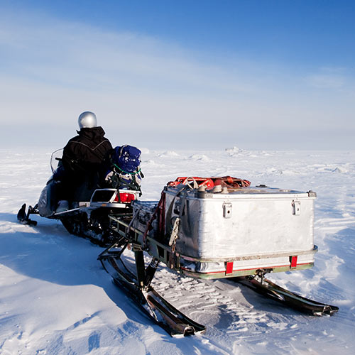 Winter answer: SNOWMOBILE
