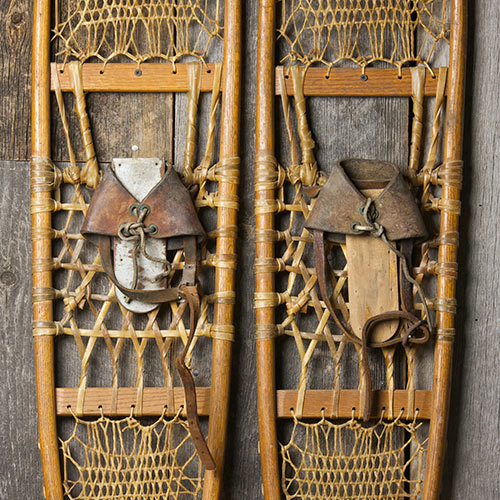 Winter answer: SNOWSHOES
