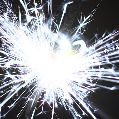 Winter answer: SPARKLERS