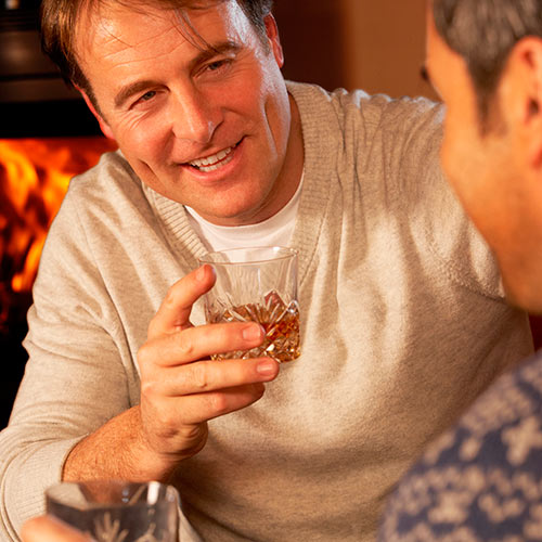 Winter answer: WHISKY