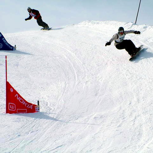 Winter Sports answer: BOARDERCROSS