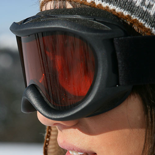Winter Sports answer: GOGGLES