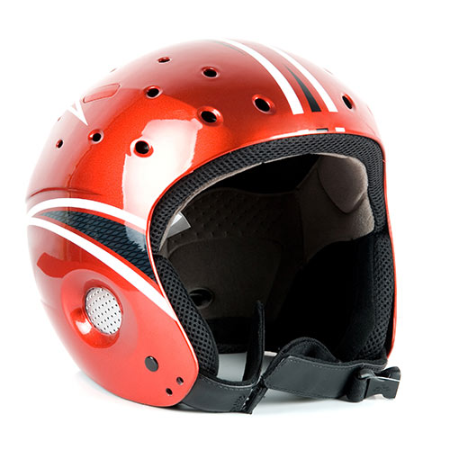 Winter Sports answer: SKI HELMET