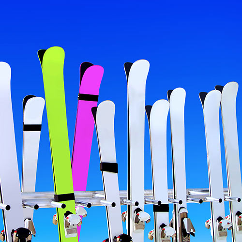 Winter Sports answer: SKIS