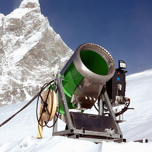 Winter Sports answer: SNOW CANNON