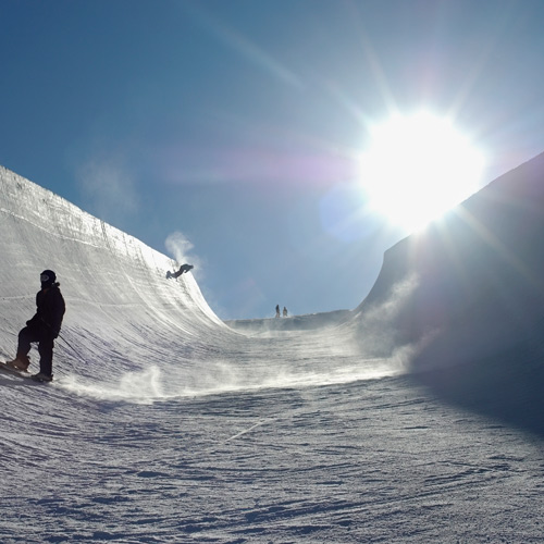 Winter Sports answer: HALFPIPE