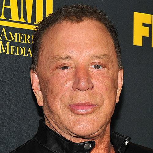 Acteurs answer: MICKEY ROURKE