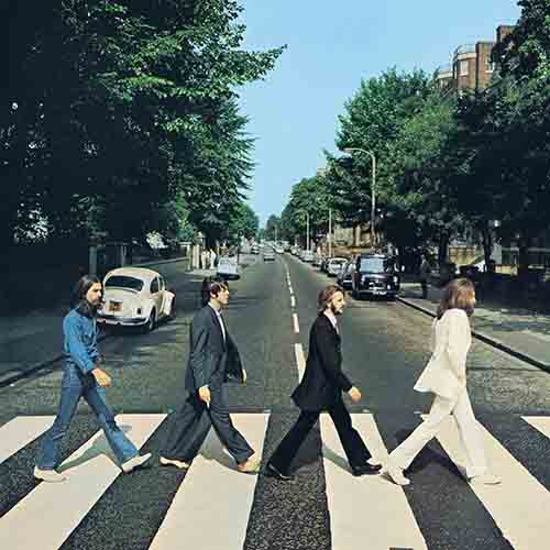 Album Covers answer: ABBEY ROAD