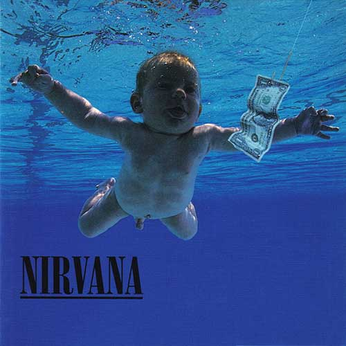 Album Covers answer: NEVERMIND