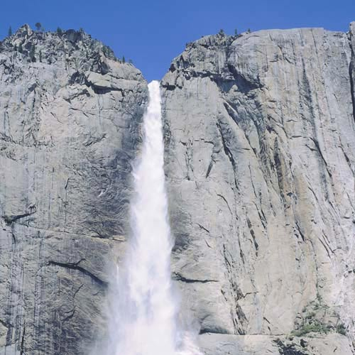 Amérique du Nord answer: YOSEMITE FALLS