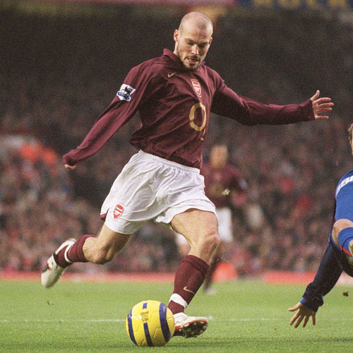 Arsenal FC answer: LJUNGBERG