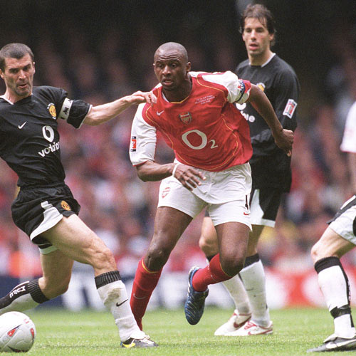 Arsenal FC answer: VIEIRA