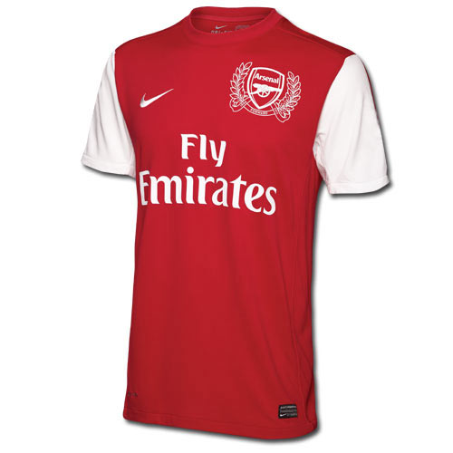 Arsenal FC answer: 2011 HOME KIT