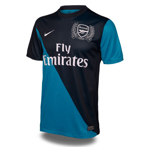Arsenal FC answer: 2011 AWAY KIT