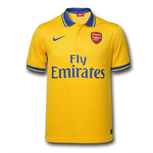 Arsenal FC answer: 2013 AWAY KIT