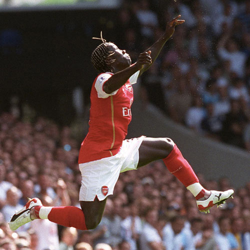 Arsenal FC answer: SAGNA