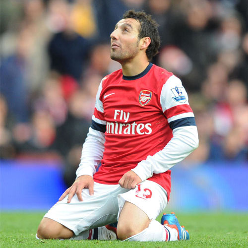Arsenal FC answer: CAZORLA