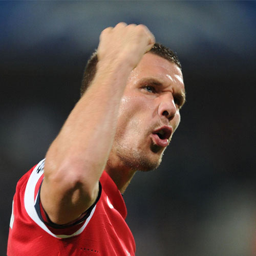 Arsenal FC answer: PODOLSKI