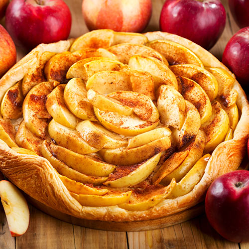 Autumn answer: APPLE PIE