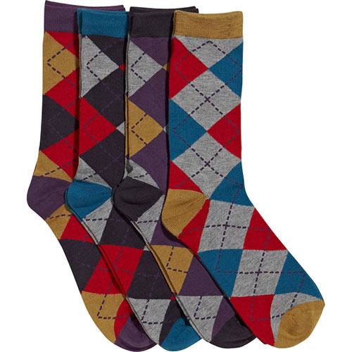 Autumn answer: ARGYLE SOCKS