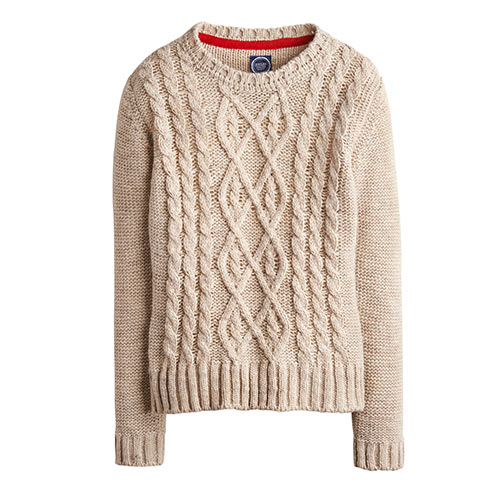 Autumn answer: CABLE KNIT
