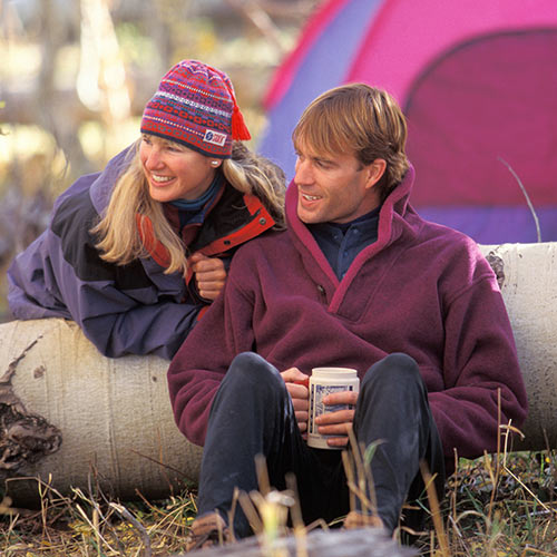 Autumn answer: CAMPING
