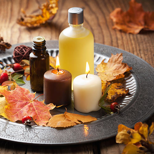 Autumn answer: CANDLES