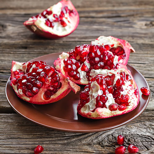 Autumn answer: POMEGRANATE