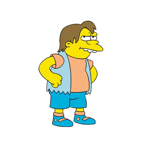 CARTOONS 2 answer: NELSON MUNTZ