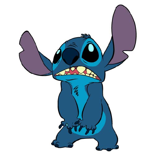CARTOONS 2 answer: STITCH