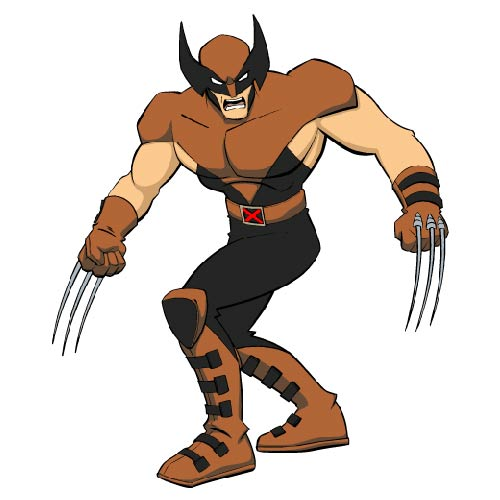CARTOONS 2 answer: WOLVERINE