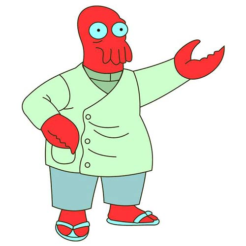 CARTOONS 2 answer: ZOIDBERG