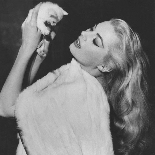 Cat Lovers answer: ANITA EKBERG