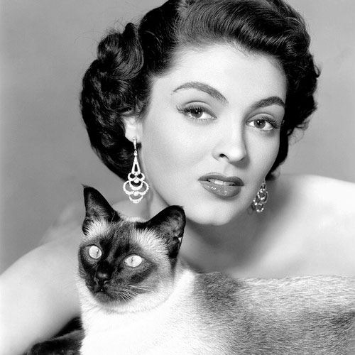 Cat Lovers answer: JANE RUSSELL