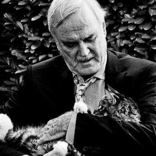 Cat Lovers answer: JOHN CLEESE
