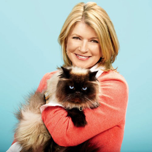 Cat Lovers answer: MARTHA STEWART