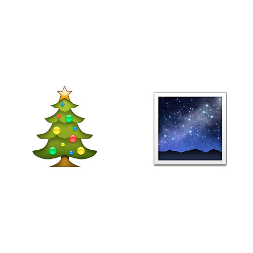 Christmas Emoji answer: CHRISTMAS EVE
