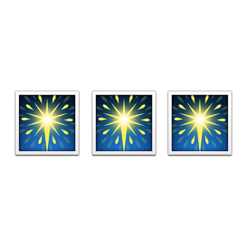 Christmas Emoji answer: FIREWORKS