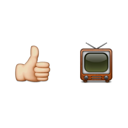 Christmas Emoji answer: GOOD TV