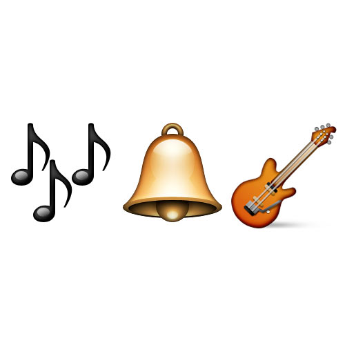 Christmas Emoji answer: JINGLE BELL ROCK