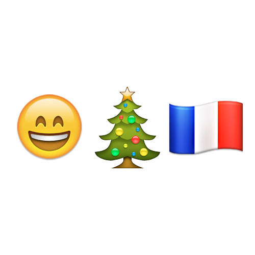 Christmas Emoji answer: JOYEUX NOEL