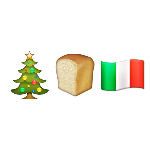 Christmas Emoji answer: PANETTONE