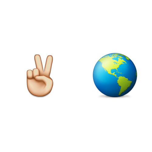 Christmas Emoji answer: PEACE ON EARTH