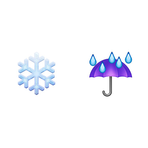 Christmas Emoji answer: SLEET